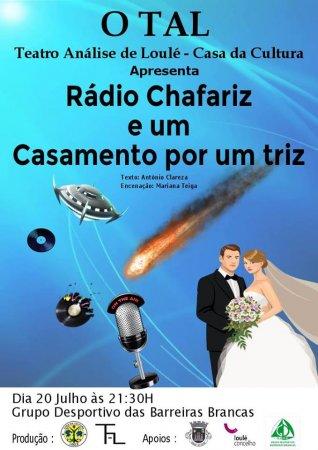 cartaz Rádio Chafariz