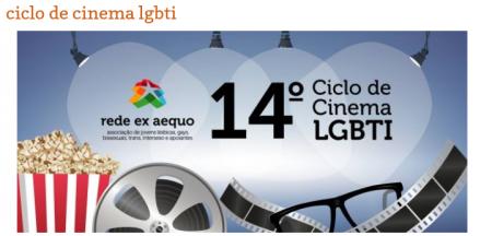 Ciclo de cinema LGBTI