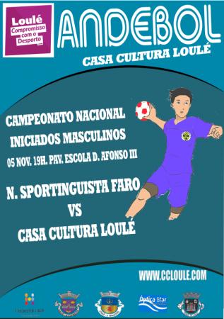 Andebol casa da Cultura de Loulé 05 nov