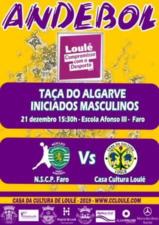 21 Dez 15.30H escola Afonso III em Faro NSCP Faro vs CC Loulé