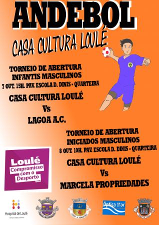 Andebol Casa da Cultura de Loulé 07 e 08 de Outubro