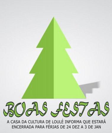 BOAS FESTAS CCLOULE