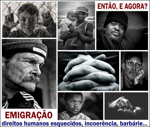 """ENTÃO E AGORA? """"emigração...l"""""""