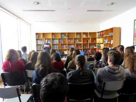 Sergio Sousa dia mundial da poesia CC Loulé