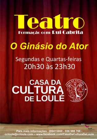 cartaz - Ginásio do Ator - Rui Cabrita