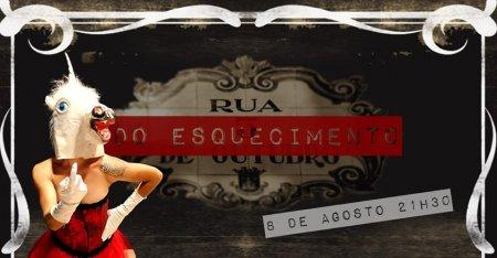 """SEXTAS À SOLTA - """"RUA DO ESQUECIMENTO"""""""