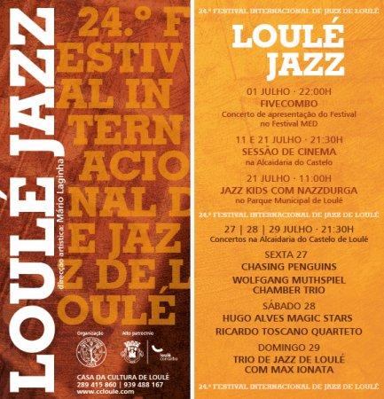 Programa festival de Jazz de loulé 2018