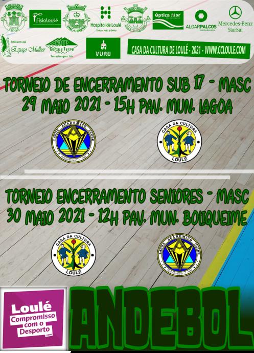 ANDEBOL 29 E 30 MAIO