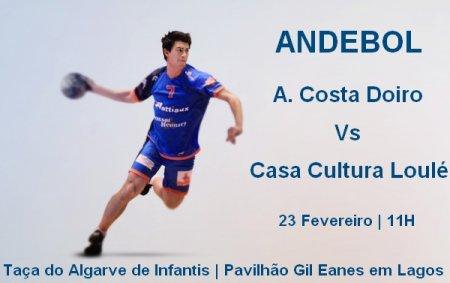 Taça Algarve infantis ACD VS CCL 23 Fev. 11H Pav. Gil Eanes