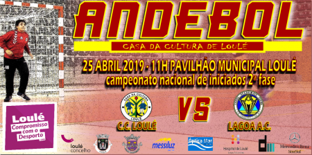 ANDEBOL LOULÉ 25 ABRIL 2019