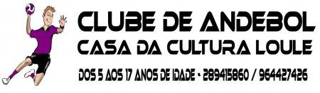 Banner Clube de Andebol Casa Cultura Loulé