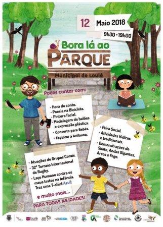 cartaz Bora lá ao Parque 2018