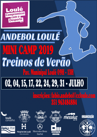 ANDEBOL LOULÉ MINI CAMP