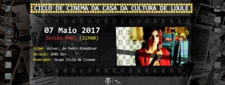 cartaz sessão 2 ciclo de cinema da casa da cultura de loulé