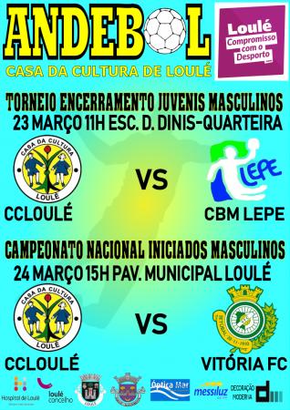 Andebol CC Loule 23 e 24 Março 2019