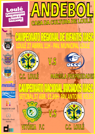 ANDEBOL LOULÉ 27 Abril 2019