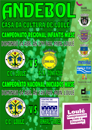 Andebol CC loule 14 Abril 2019