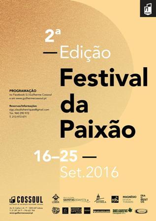 Cartaz Festival da Paixão