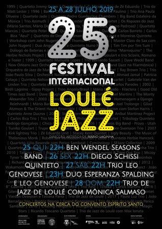 Cartaz Festival internacional de Jazz de Loulé 2019