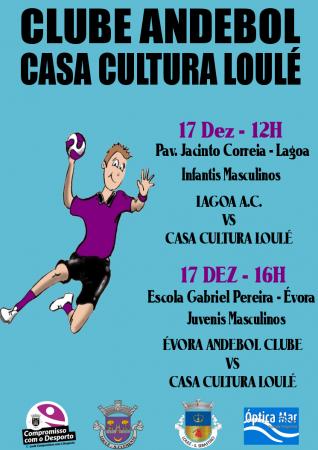 Andebol Casa da Cultura de Loulé - 17 Dez 2016