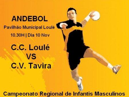 Dia 10 Nov Casa da Cultura de Loulé Vs Clube Vela de Tavira