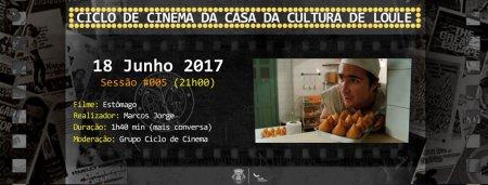 Cartaz Ciclo Cinema Casa Cultura Loulé sessão 05
