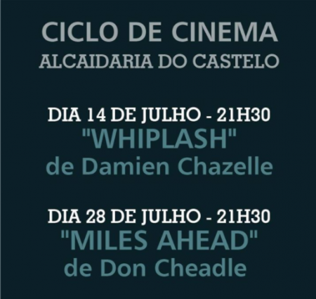 banner ciclo cinema Jazz Loulé