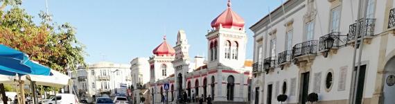 Loulé imagem Praça da Republica