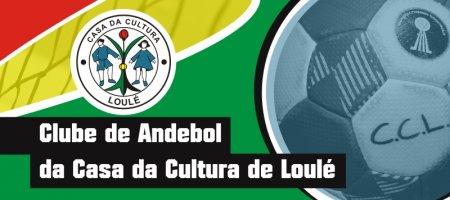 Banner Clube de Andebol da Casa da Cultura de Loulé