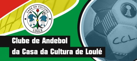 banner andebol Casa Cultura Loulé