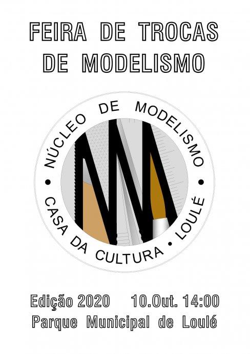 cartaz feira trocas modelismo