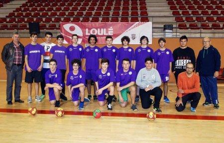 equipa CCL Andebol escalão Iniciados 2014 / 2015