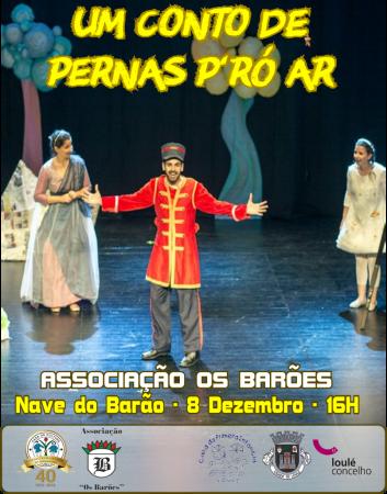 cartaz - Teatro Análise de Loulé na Nave do Barão
