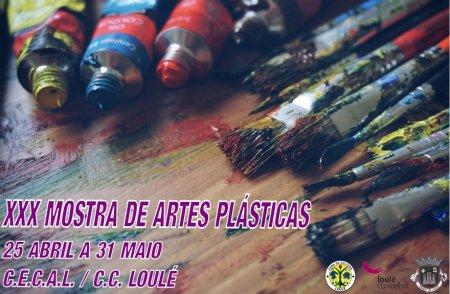 XXX Mostra de Artes Plásticas do Concelho de Loulé banner