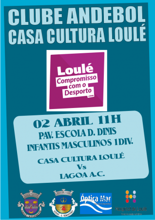 Andebol Casa Cultura Loulé 02 Abril