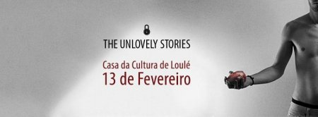 "banner ""THE(UN)LOVELY STORIES"" João Kaiano"