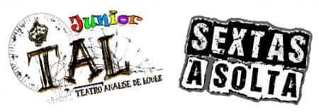logos TAL Júnior e Sextas à Solta