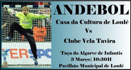 C.C. Loulé Vs C.V. Tavira | 03 Março 10:30H | Pav. Municipal Loulé