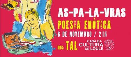 cartaz poesia erótica casa da cultura loulé