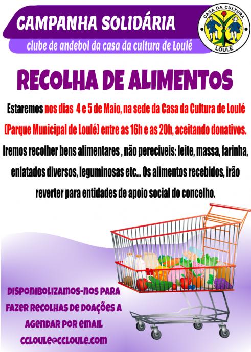 Campanha Solidária andebol CCL