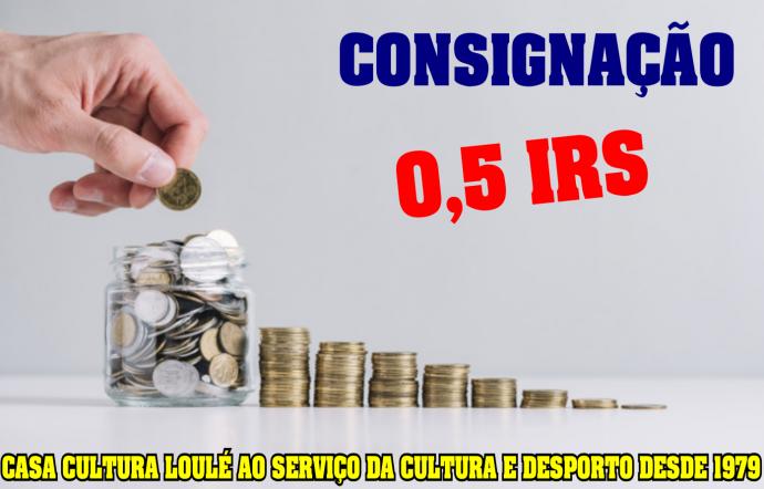 consignação IRS CC Loulé