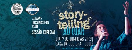 banner toasmasters Casa da Cultura Loulé